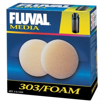 Fluval 303 Foam Filter Block - 2 Pieces